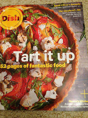 THE DISH MAGAZINE 2015 52 PAGES FOOD JOHN TORODE JAMIE OLIVER FLORENCE KNIGHT
