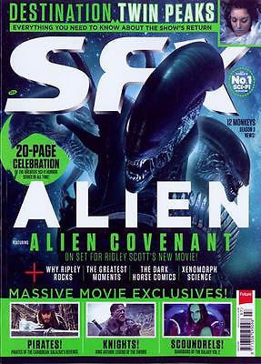 UK SFX Magazine July 2017 Alien Covenant - 20 page celebration of the movie