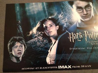 Daniel Radcliffe Harry Potter And the Prisoner of Azkaban Original Cinema Poster