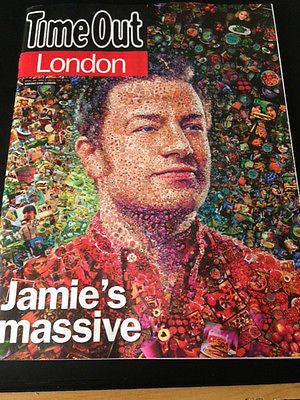 TIME OUT MAGAZINE 2015 - DAVID BYRNE - JAMIE OLIVER - FOODTUBE - DAMON ALBARN