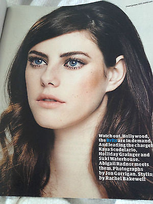 Kaya Scodelario PHOTO SHOOT INTERVIEW SEPTEMBER 2014 JULIA RESTOIN ROITFELD