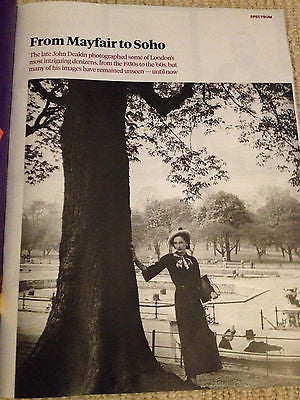 JOHN DEAKIN VINTAGE PHOTO SPECIAL UK MAGAZINE 2014
