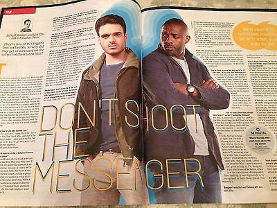CULTURE MAGAZINE April 2016 RICHARD MADDEN Idris Elba Photo Interv/w RANKIE FOX