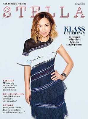 Stella Magazine April 2016 Myleene Klass Photo Cover Interview