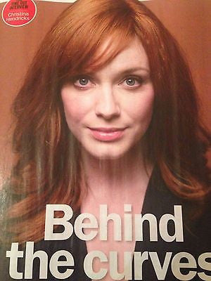 Mad Men CHRISTINA HENDRICKS PHOTO INTERVIEW TIME OUT APRIL 2015 Keanu Reeves