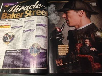 Sherlock MARTIN FREEMAN Benedict Cumberbatch PHOTO INTERVIEW UK MAGAZINE 2015