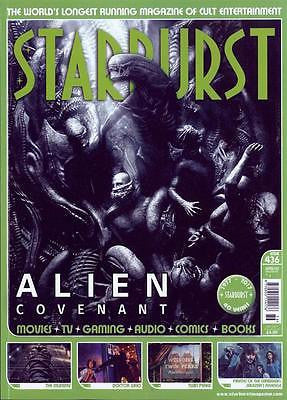 Starburst Magazine May 2017 Alien Covenant UK Photo Cover Special