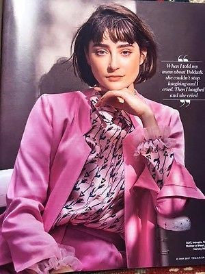 Poldark ELLISE CHAPPELL on AIDAN TURNER UK YOU MAGAZINE May 21 2017