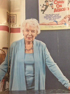 ABSOLUTELY FABULOUS June Whitfield PHOTO INTERVIEW SEPTEMBER 2015