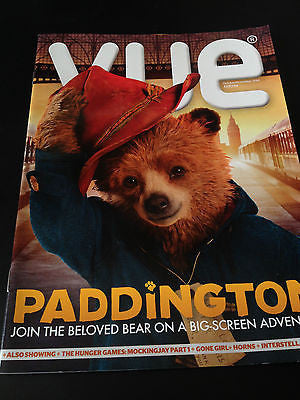 VUE MAGAZINE NOVEMBER 2014 PADDINGTON THE MOVIE BEN WHISHAW PHOTO COVER