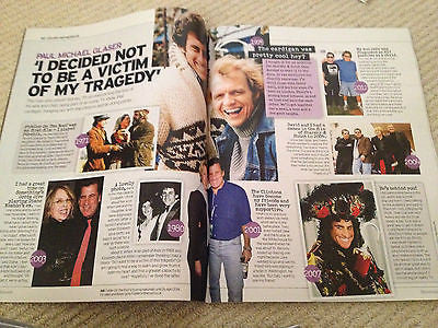UK 1 DAY Magazine PAUL MICHAEL GLASER David Soul