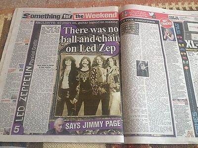 JIMMY PAGE interview PHYSICAL GRAFFITI UK 1 DAY ISSUE 2015 LED ZEPPELIN