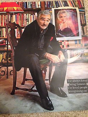 CANDICE HUFFINE PHOTO COVER INTERVIEW UK TIMES MAGAZINE JULY 2016 BURT REYNOLDS