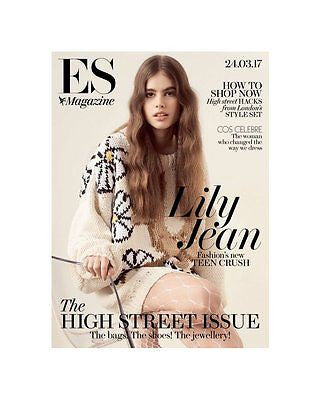 (UK) ES MAGAZINE MARCH 2017 LILY JEAN HARVEY PHOTO COVER INTERVIEW