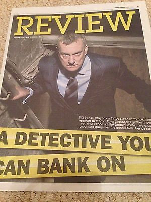 DCI Banks STEPHEN TOMPKINSON PHOTO UK COVER EXPRESS REVIEW JULY 2016