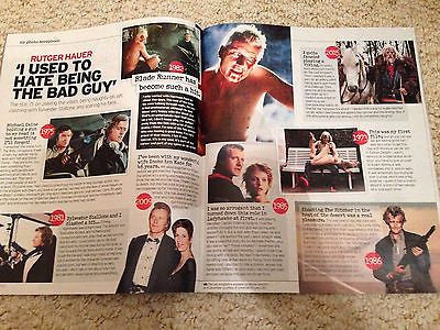 Blade Runner RUTGER HAUER PHOTO INTERVIEW MAGAZINE NOVEMBER 2015