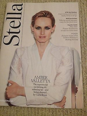 AMBER VALLETTA Photo Cover interview STELLA MAGAZINE MAY 2014