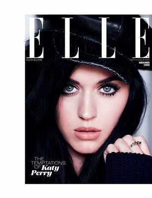 ELLE UK September 2013 Katy Perry Photo Cover HAILEE STEINFELD Josefine Nielsen