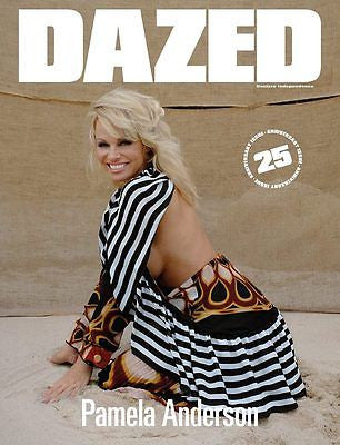 PAMELA ANDERSON Cover - DAZED & CONFUSED 25th Anniversary magazine A/W 2016 NEW