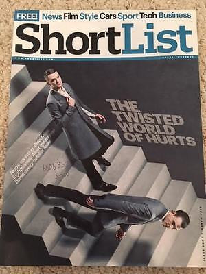 Shortlist Magazine March 2013 Hurts Theo Hutchcraft Steve Carell Hugo Chavez