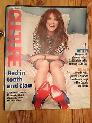 TOM CULLEN interview DOWNTON ABBEY UK 1 DAY ISSUE 2014 JULIANNE MOORE BOB DYLAN