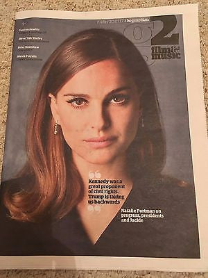 UK G2 Guardian Supplement January 2017 Natalie Portman Jackie Kennedy