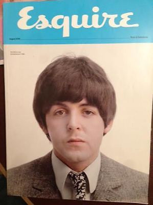 Sir Paul McCartney Photo Cover Uk ESQUIRE Magazine Subscribers Cover 08/2015