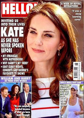 HELLO! magazine May 2017 Kate Middleton - As She Has Never Spoken Before!