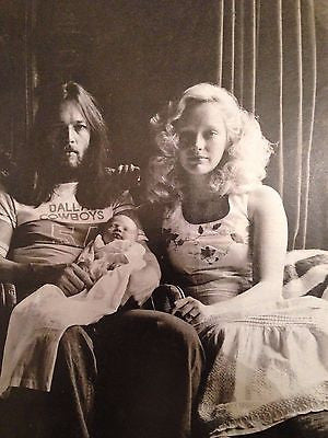 Ginger Gilmour DAVE GILMOUR PHOTO INTERVIEW UK TELEGRAPH MAGAZINE AUGUST 2016