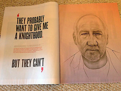 The Who PETE TOWNSHEND PHOTO INTERVIEW MAGAZINE KYLE SOLLER KATHERINE PARKINSON