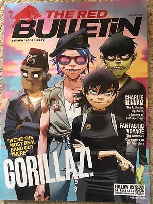 Red Bulletin Magazine June 2017 - Gorillaz Damon Albarn Charlie Hunnam