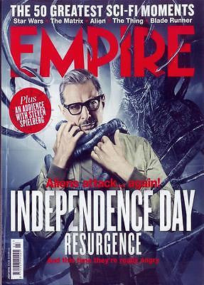 JEFF GOLDBLUM INDEPENDENCE DAY PRINCE (PURPLE RAIN) Empire UK magazine July 2016