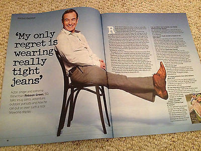 NOTEBOOK Magazine February 2015 ROBSON GREEN PHOTO INTERVIEW