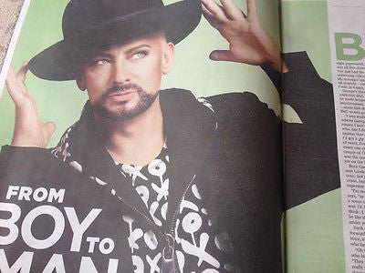 SUN TV Magazine January 2016 BOY GEORGE Culture Club PHOTO INTERVIEW