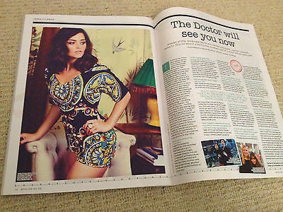 Doctor Who JENNA LOUISE COLEMAN PHOTO INTERVIEW UK MAGAZINE 2013