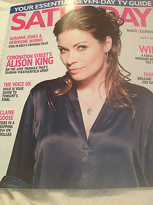 Kylie Minogue ALISON KING Photo Interview 2014 Magazine CLAIRE GOOSE Clive Swift