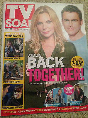TV SOAP Magazine 28 Feb 2016 Samantha Janus Ryan Hawley Joivan Wade Scott Maslen