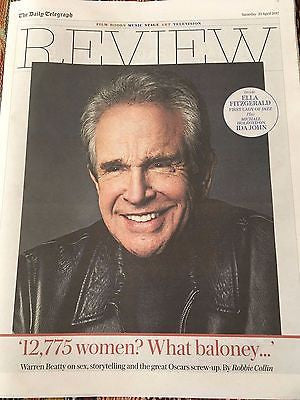 UK Telegraph Review April 2017 Warren Beatty Ella Fitzgerald Ward Thomas