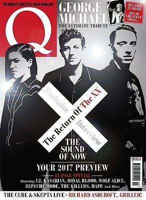 Q magazine - March 2017 The XX George Michael Special Tribute Haim