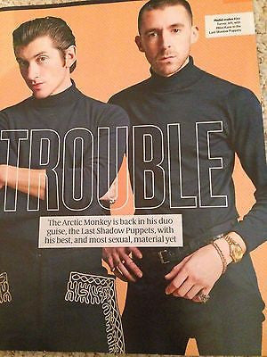 LAST SHADOW PUPPETS Photo Cover interview UK MAGAZINE MARCH 2016 GEORGE MARTIN