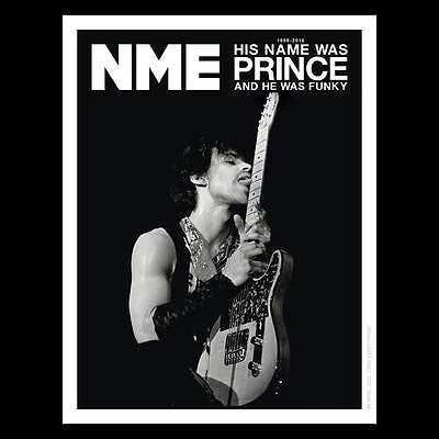 PRINCE Photo Cover Special UK NME MAGAZINE APRIL 2016 NEW