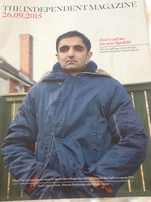 INDEPENDENT MAGAZINE SEPTEMBER 2015 SUNJEEV SAHOTA PHOTO INTERVIEW