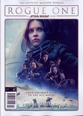STAR WARS - ROGUE ONE - THE OFFICIAL MISSION DEBRIEF UK MAGAZINE NEW 2017