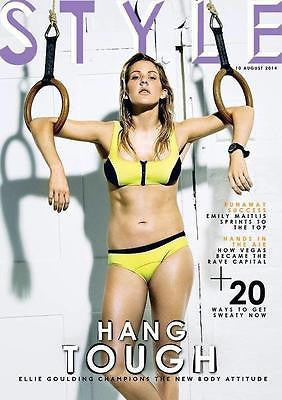 ELLIE GOULDING PHOTO COVER INTERVIEW UK STYLE MAGAZINE AUG 2014 KATHLEEN TURNER