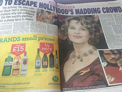 Far From the Madding Crowd JULIE CHRISTIE Photo Interview February 2015