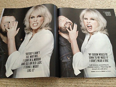 JOANNA LUMLEY interview SHWOPPING UK 1 DAY ISSUE 2014 NEW IRVINE WELSH