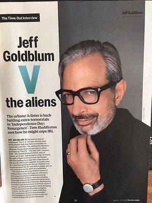 Time Out London Magazine 21 June 2017 Jeff Goldblum Ralph Fiennes