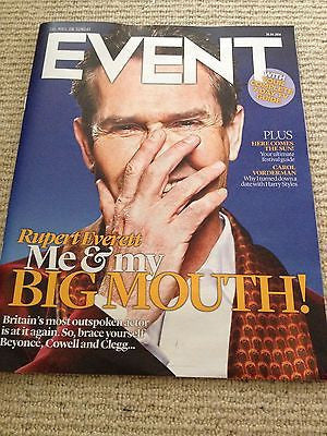 RUPERT EVERETT interview WILLIAM SHATNER UK ISSUE 2014 TOM HARDY MICHAEL NYMAN