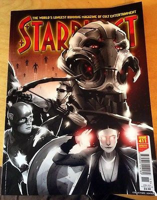 STARBURST APRIL 2015 AVENGERS: AGE OF ULTRON JEREMY RENNER CHRIS EVANS COVER 2