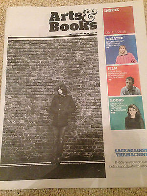 Independent Arts & Books March 2016 Bobby Gillespie PRIMAL SCREAM PHOTO Cover